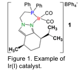 Figure 1. Example of Ir(I) catalyst